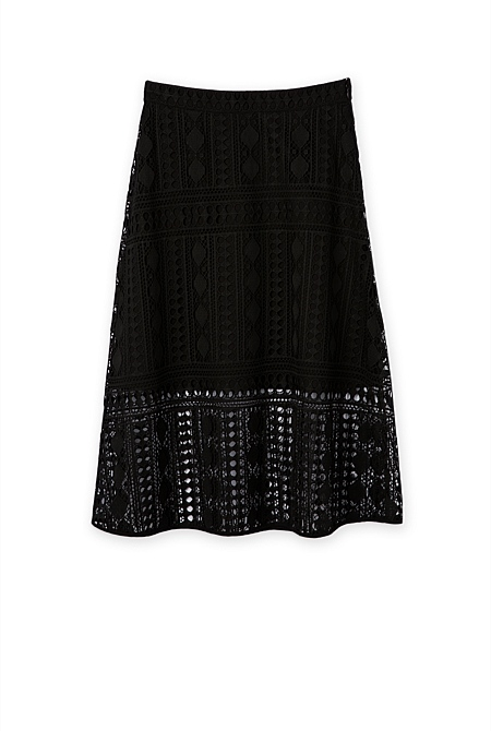 Lace skirt a line – Modern skirts blog for you