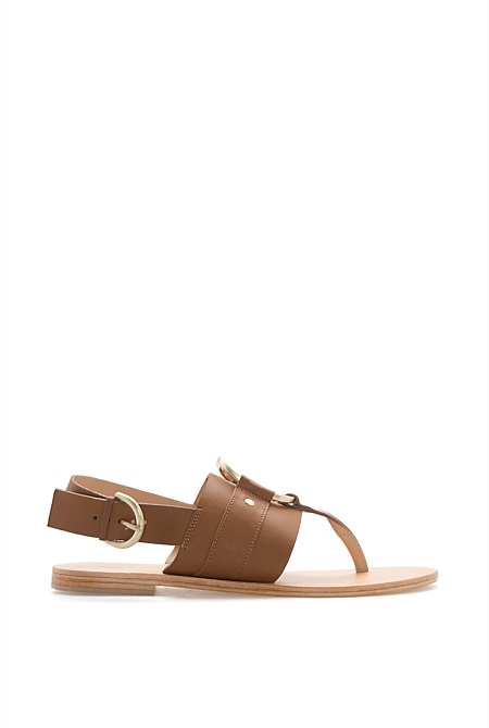 Abby Flat Sandal Country Road 30r6XC4zM