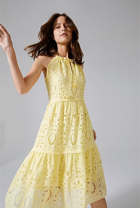 bdfb7291b4 ... Tiered Broderie Dress; Tiered Broderie Dress