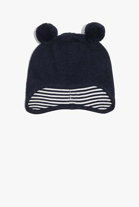 Jersey Knit Beanie  5b3a037073e