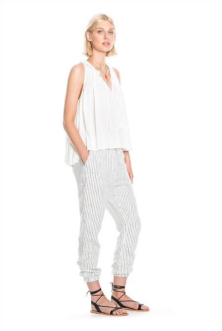 129a4ece9f3d Relaxed Stripe Pant