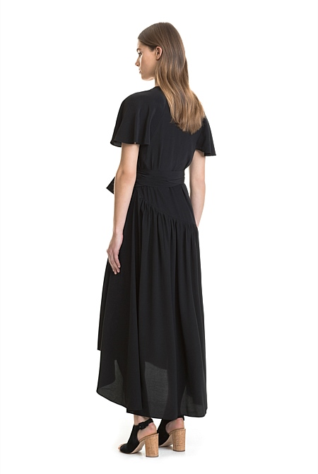 Country road dress black