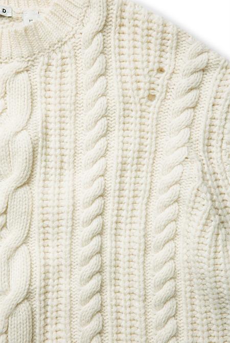 Cable Swing Knit Knitwear