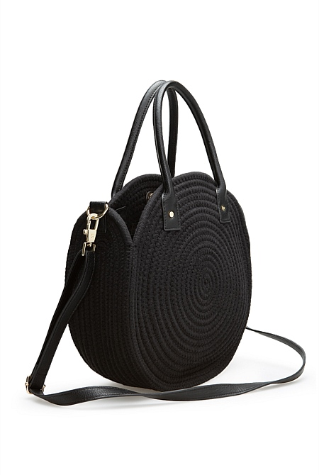 33fd91f6f10d Round Rope Tote | Tote Bags