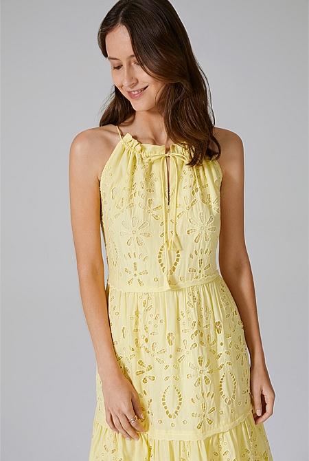 f742bb89e9 Tiered Broderie Dress | Dresses