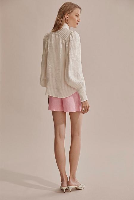 Self Stripe Blouse | Shirts