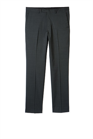 Wool Blend Cross Dye Pant