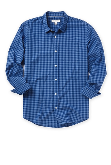 Two Tone Gingham Shirt