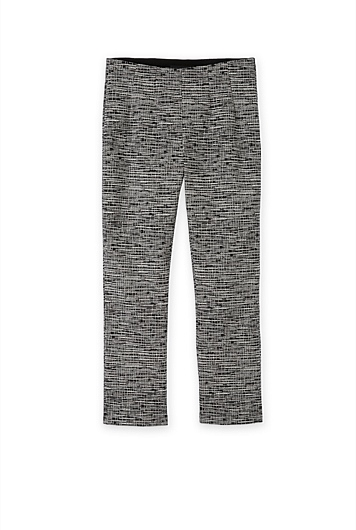 Textured Cropped Kick