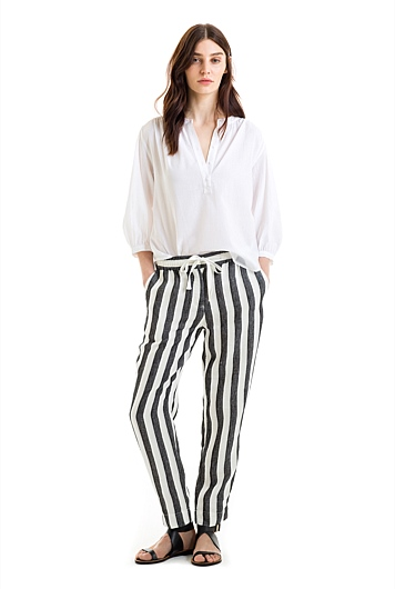 Stripe Tapered Pant