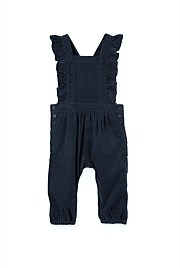 Cord Ruffle Jumpsuit