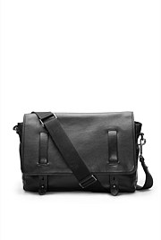 Devoe Leather Messenger