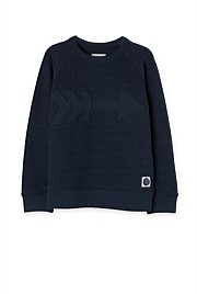 Pique Arrow Sweat