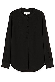 Silk Bib Shirt