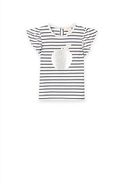 Stripe Apple T-Shirt
