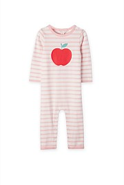 Stripe Apple Jumpsuit