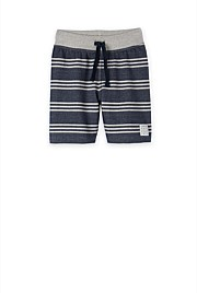Stripe Sweat Short