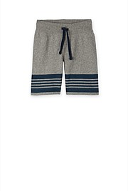 Hem Stripe Sweat Short
