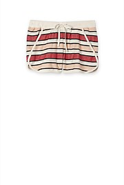 Stripe Herringbone Short