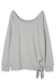 Slouch Tie Up Sweat