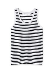 Slouchy Stripe Pocket Tank