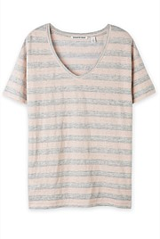 Metallic Lurex Stripe T-Shirt