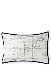 Geography Standard Pillow Case