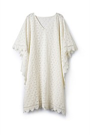 Broderie Lace Kaftan