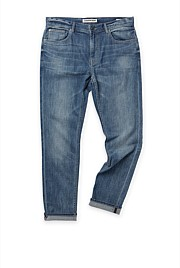 Tapered Mid Wash Jean