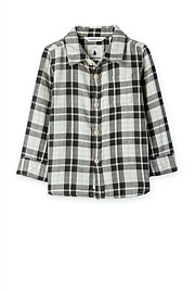 Double Fabric Check Shirt
