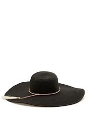 Tassel Wide Brim Hat