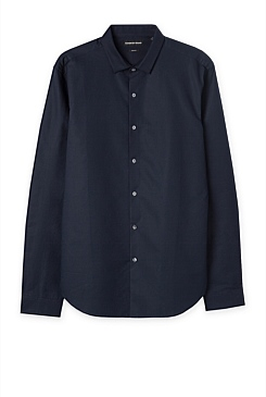 Slim Barre Rib Shirt