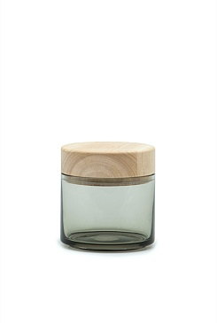Arlo Small Glass Canister