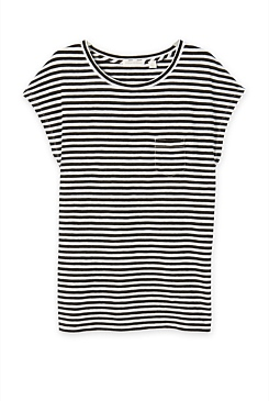 Jersey Stripe Pocket T-Shirt