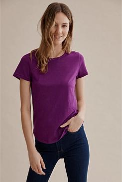 275384c5aee878 Cotton Slub T-Shirt