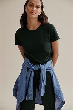 6368a9bedb6 Cotton Slub T-Shirt
