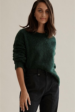 3980ef8ccb Brushed Fluffy Sweater