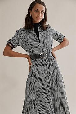 fdb0d0290c Panelled Shirt Dress