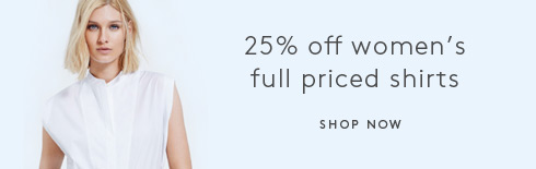 25% Off Women's Full Priced Shirts
