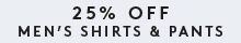 It's All About Dad - 25% Off Men's Shirts & Pants. Ends Sunday 6 September. Prices as marked online. View Terms & Conditions.