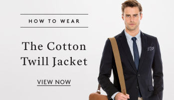 How to Wear: The Cotton Twill Jacket - View Now